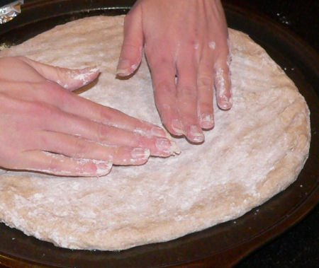 Quick and easy whole wheat pizza recipe