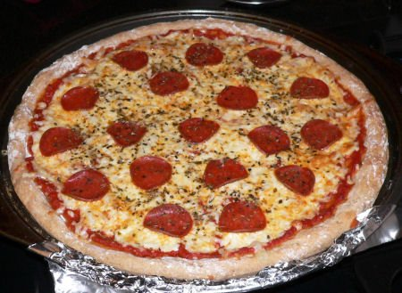 Quick and easy whole wheat pizza recipe