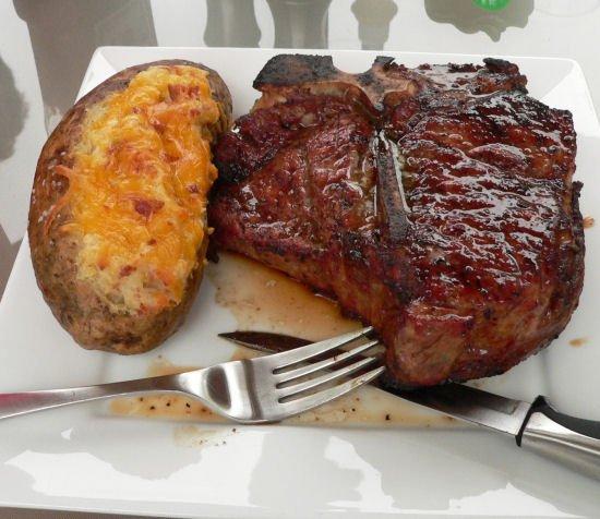 Gigantic Porterhouse Steaks