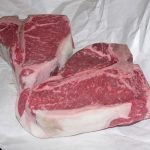 Gigantic Porterhouse steaks!