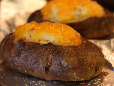 Steak Dinner Side Dish Ideas - Twice Baked Potato