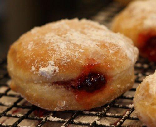Homemade Jelly Donut Recipe