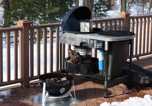 Weber Smokey Mountain BBQ Smoker - Grilling24x7