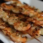 Grilled Shrimp with a Coconut Milk Marinade