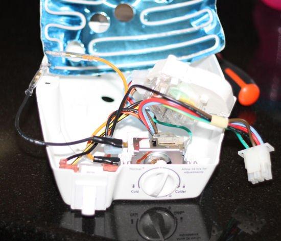 Frigidaire cold control kit installation