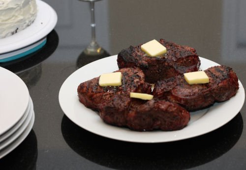 Grilling a Costco Filet Mignon with Butter