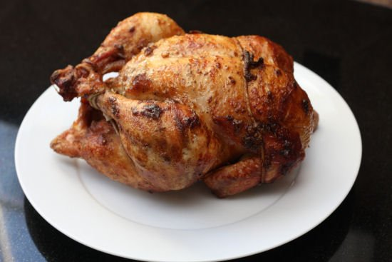 Garlic Rotisserie Chicken Recipe