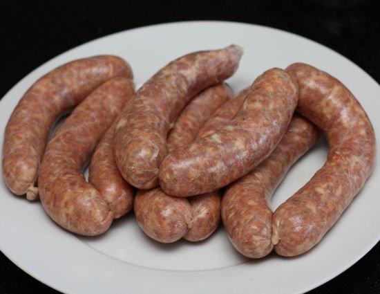 Homemade Hot Italian Sausage