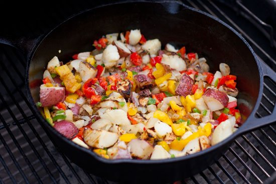 Bobby Flays Grilled Home Fries Recipe