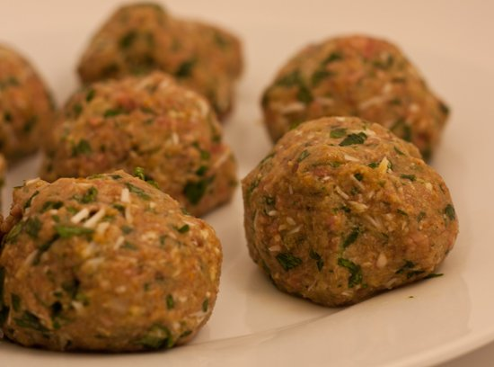 Grilled Meatball Recipe - Directly on the charcoal grates