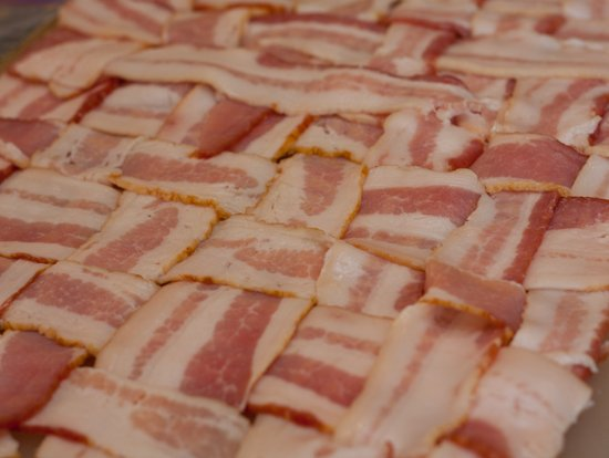 Bacon Weave for a BBQ Fatty (Bacon Explosion)
