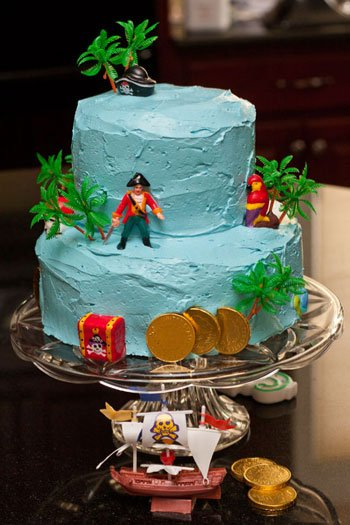 Jake and the Neverland Pirate Cake for my daughter