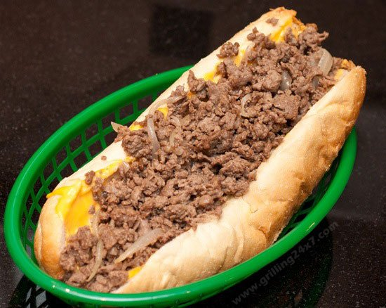 Authentic Philly Cheesesteaks