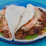 Pulled Pork Soft Tacos With Sriracha Coleslaw