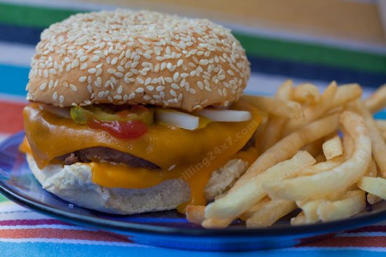 Homemade Quarter Pounder with Cheese like Mcdonalds - Grilling24x7.com