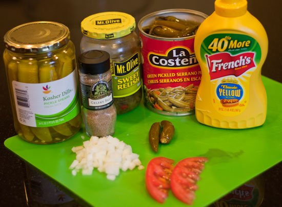 Chicago style hot dog recipe at grilling24x7.com