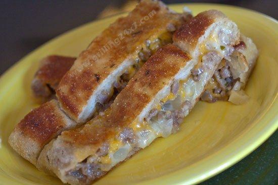 Bratwurst Roll - Savory Tailgate Appetizer