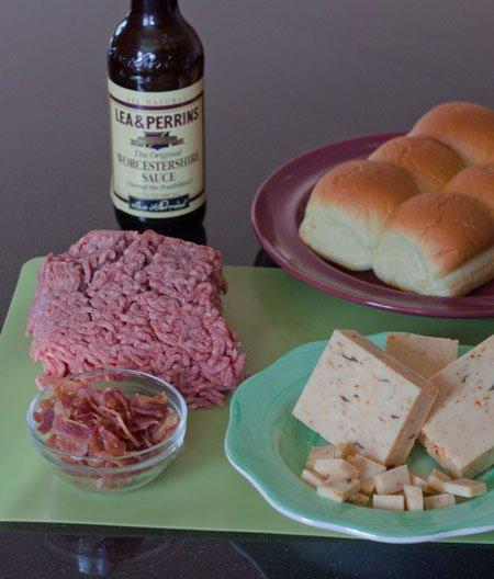 Bacon Cheddar Stuffed Cheeseburger Sliders - Grilling24x7