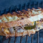 Pulled Pork Grilled Cheese Sandwiches