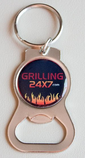 grilling24x7 keychain bottle opener grilling24x7grilling24x7. Black Bedroom Furniture Sets. Home Design Ideas