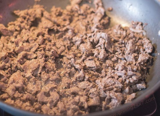 Food processor cheesesteaks -
