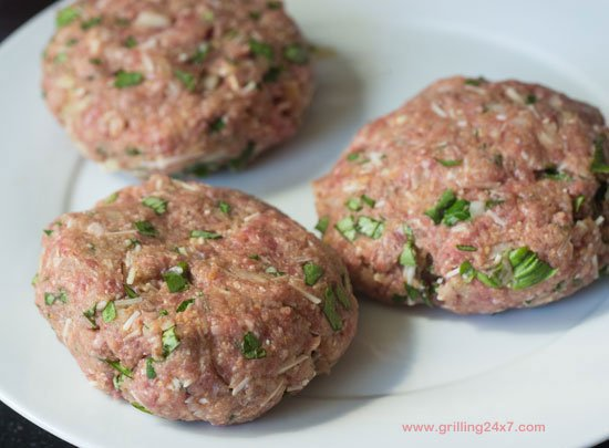 Grilled Meatball Burgers with Pepperoni - Grilling24x7