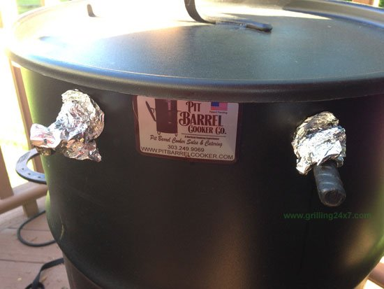 How to put the fire out in the Pit Barrel Cooker
