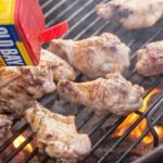 Grilled Old Bay Wings