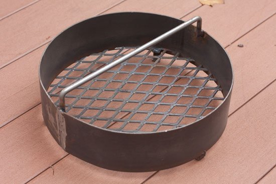 Charcoal basket for a pit barrel cooker compared to an ugly drum smoker UDS - grilling24x7.com