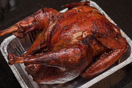 How to cook a turkey on the Pit Barrel cooker - Grilling24x7.com