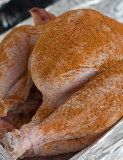 Smoking a turkey on the pit barrel cooker - grilling24x7.com