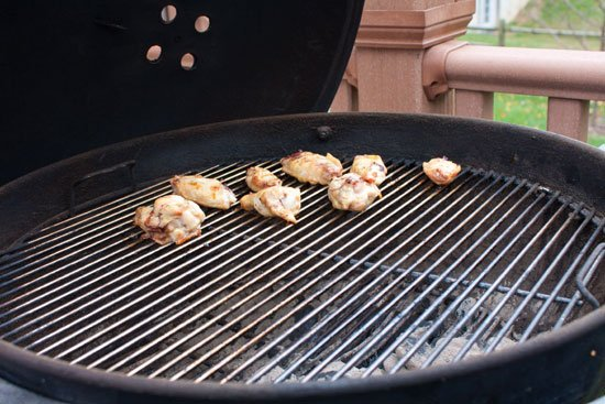 How to grill wings with charcoal - Grilling24x7.com