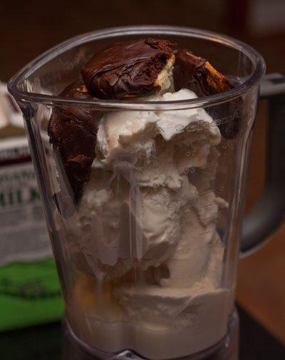 Ingredients for a Berger cookie milkshake #baltimore #recipe