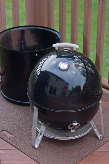 using a weber smokey mountain as a charcoal grillgrilling24x7. Black Bedroom Furniture Sets. Home Design Ideas