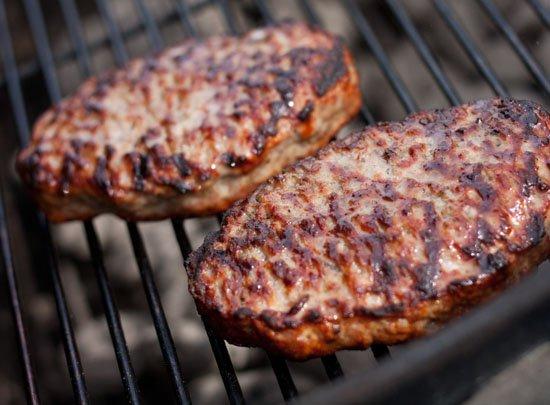 Grilling Johnsonville Brat Burgers