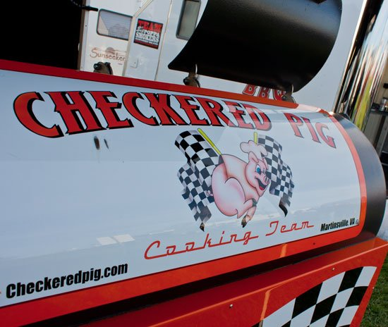 BBQ teams at the Kingsford Invitational - Checkered Pig - Tommy Houston
