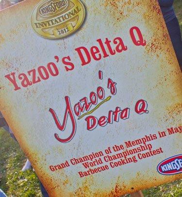 BBQ teams at the Kingsford Invitational - yazoos delta q