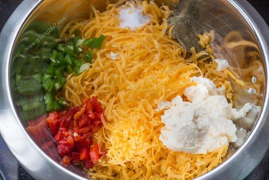 Homemade Pimento Cheese Recipe - Grilling24x7.com