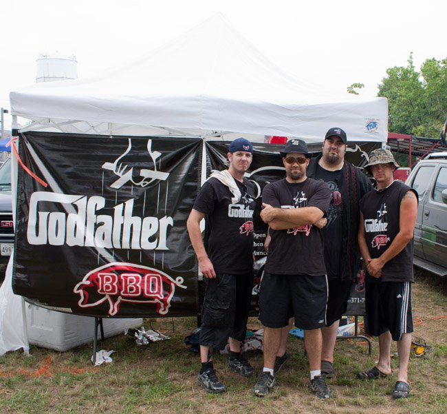 Godfather BBQ Team at the MD BBQ Bash