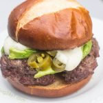 Avocado Ranch Burgers with Jalapeno Peppers