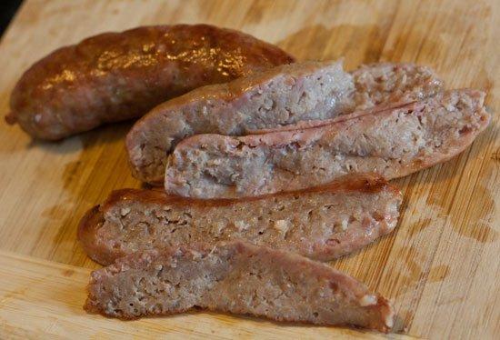 Brat Gyro - Bratwurst gyro recipe with homemade tzatziki sauce
