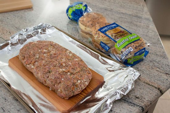 Grilled Italian Meatloaf Sandwiches