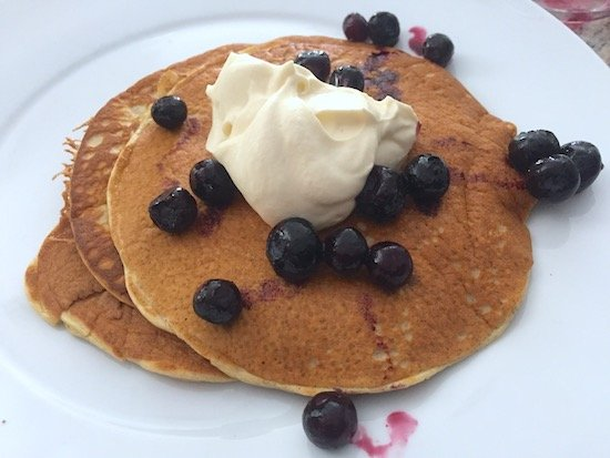 Keto Cream Cheese Pancake - Ketogenic diet breakfast