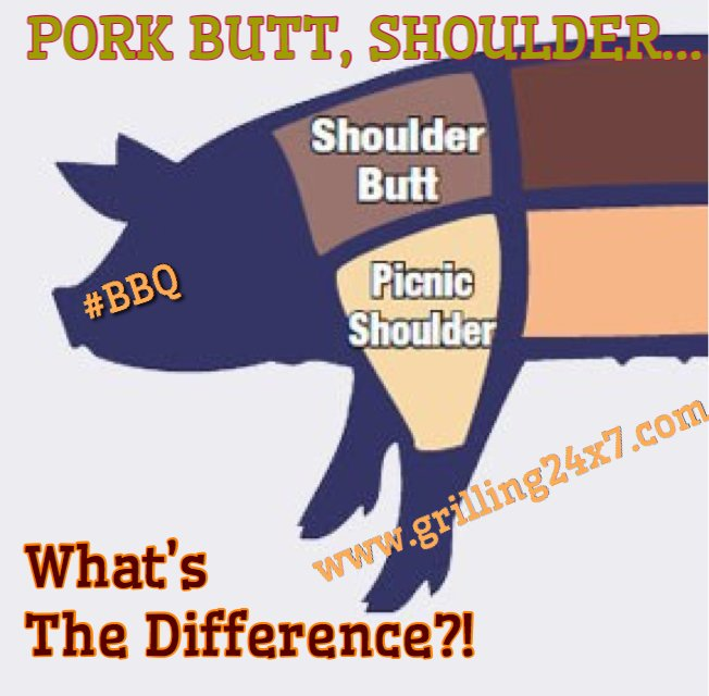 What S The Difference Between A Pork And Shoulder In Bbq Cooking
