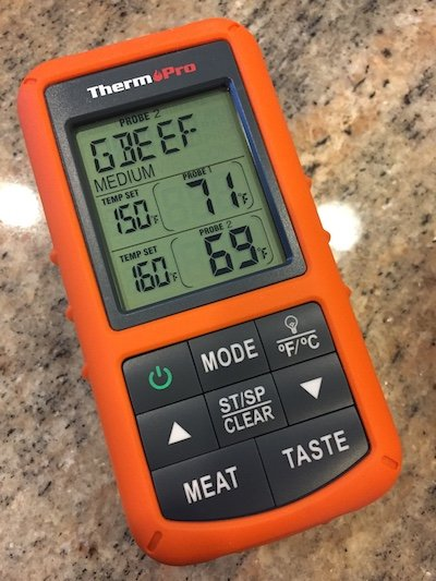 Thermopro wireless grilling thermometer review