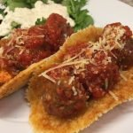 Keto Meatball Subs – Provolone Cheese Buns