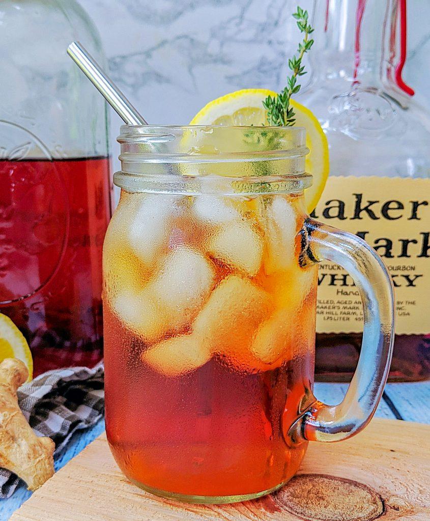 Lemon Thyme Sun Tea