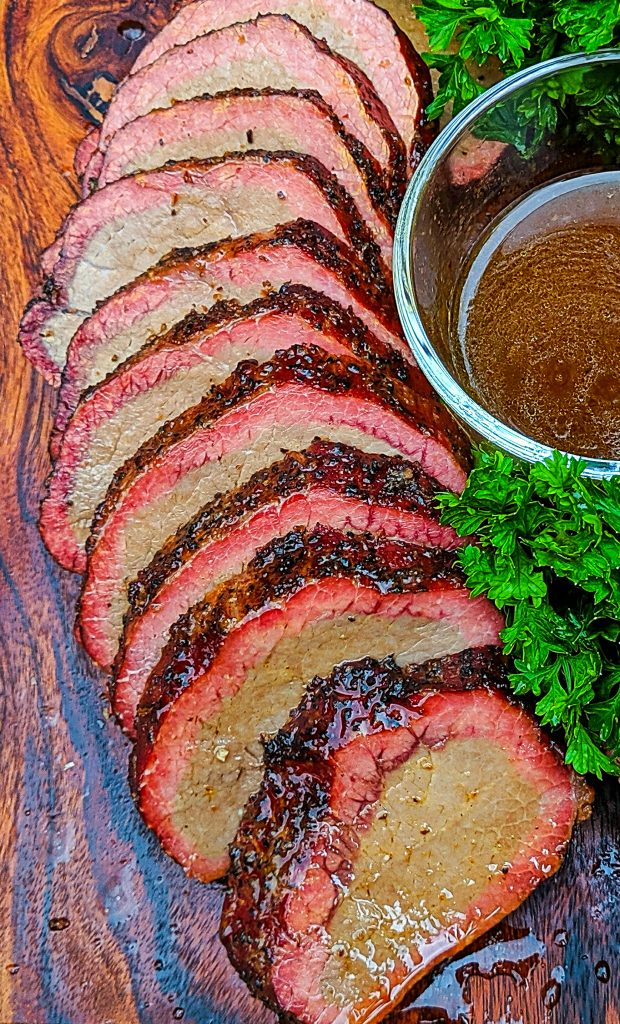 eye round of beef with au jus
