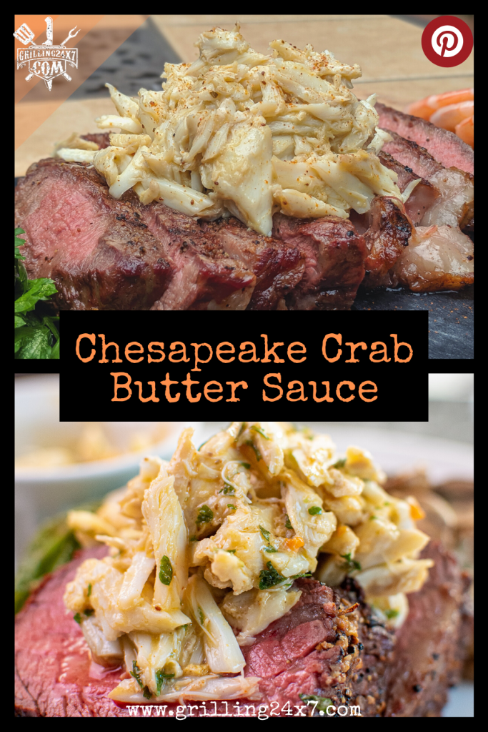 chesapeake crab butter sauce recipe